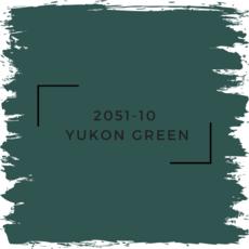 Benjamin Moore 2051-10  Yukon Green