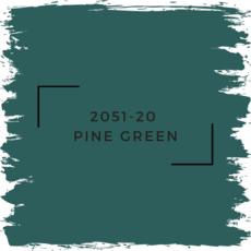 Benjamin Moore 2051-20  Pine Green
