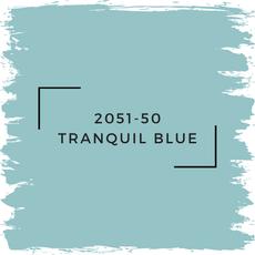 Benjamin Moore 2051-50 Tranquil Blue