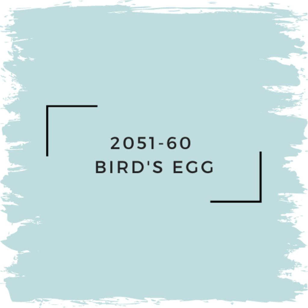 Benjamin Moore 2051-60  Bird's Egg