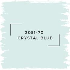 Benjamin Moore 2051-70  Crystal Blue