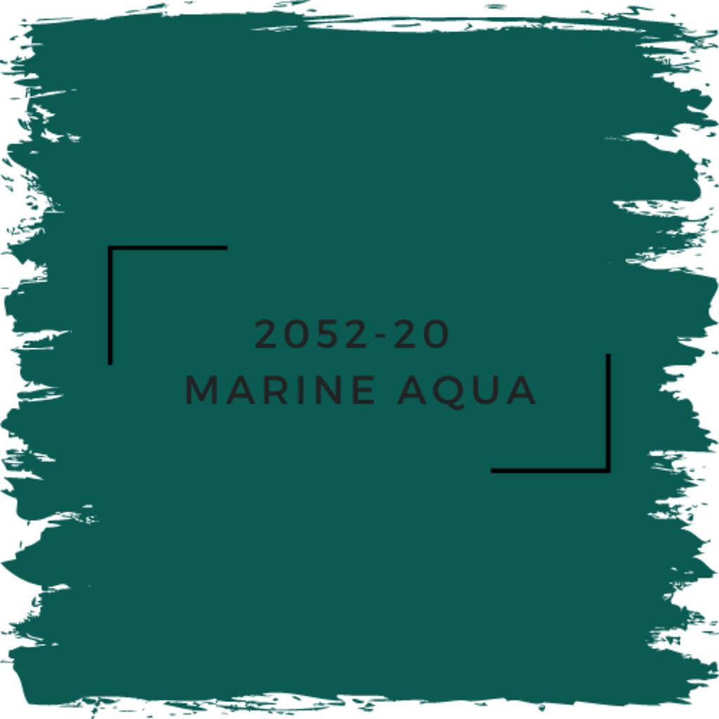 Benjamin Moore 2052-20  Marine Aqua
