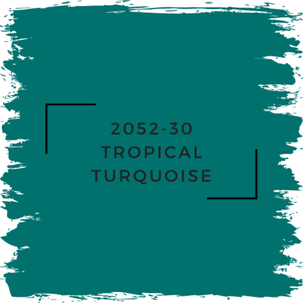 Benjamin Moore 2052-30 Tropical Turquoise