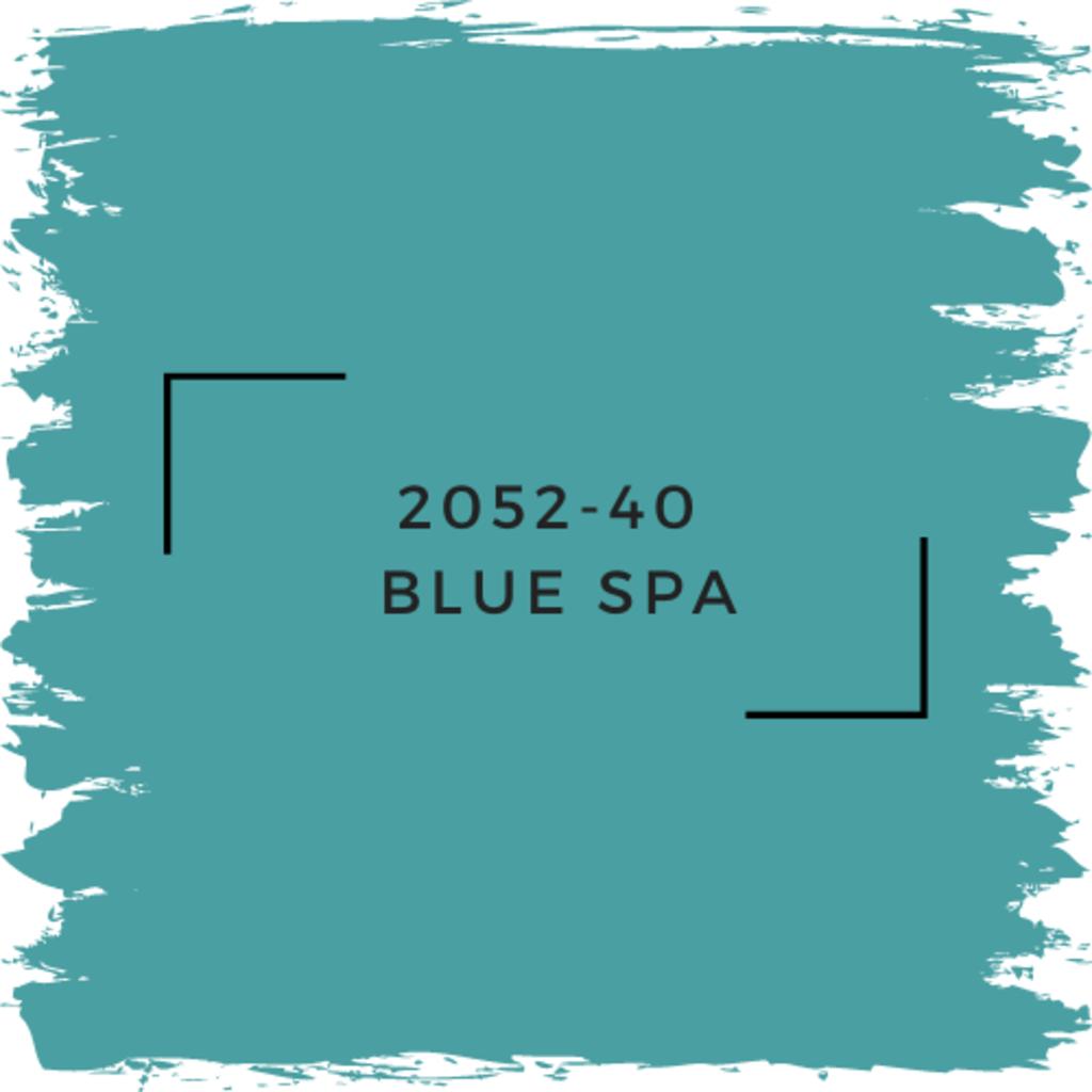 Benjamin Moore 2052-40  Blue Spa