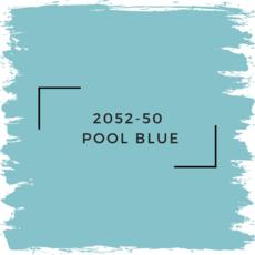 Benjamin Moore 2052-50  Pool Blue
