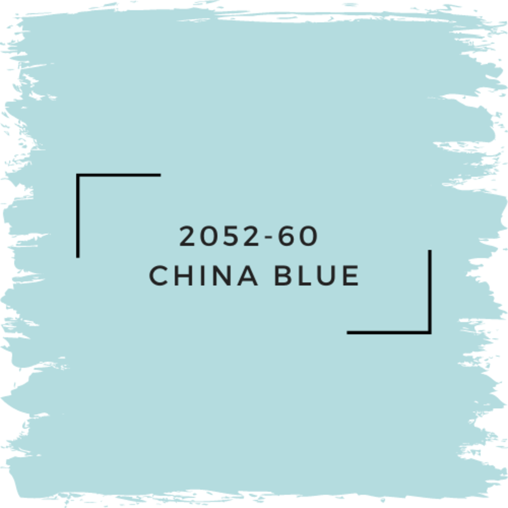 Benjamin Moore 2052-60  China Blue