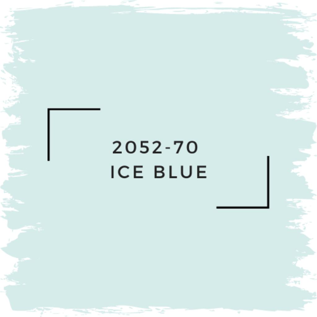 Benjamin Moore 2052-70  Ice Blue