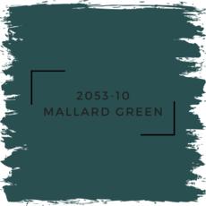 Benjamin Moore 2053-10 Mallard Green