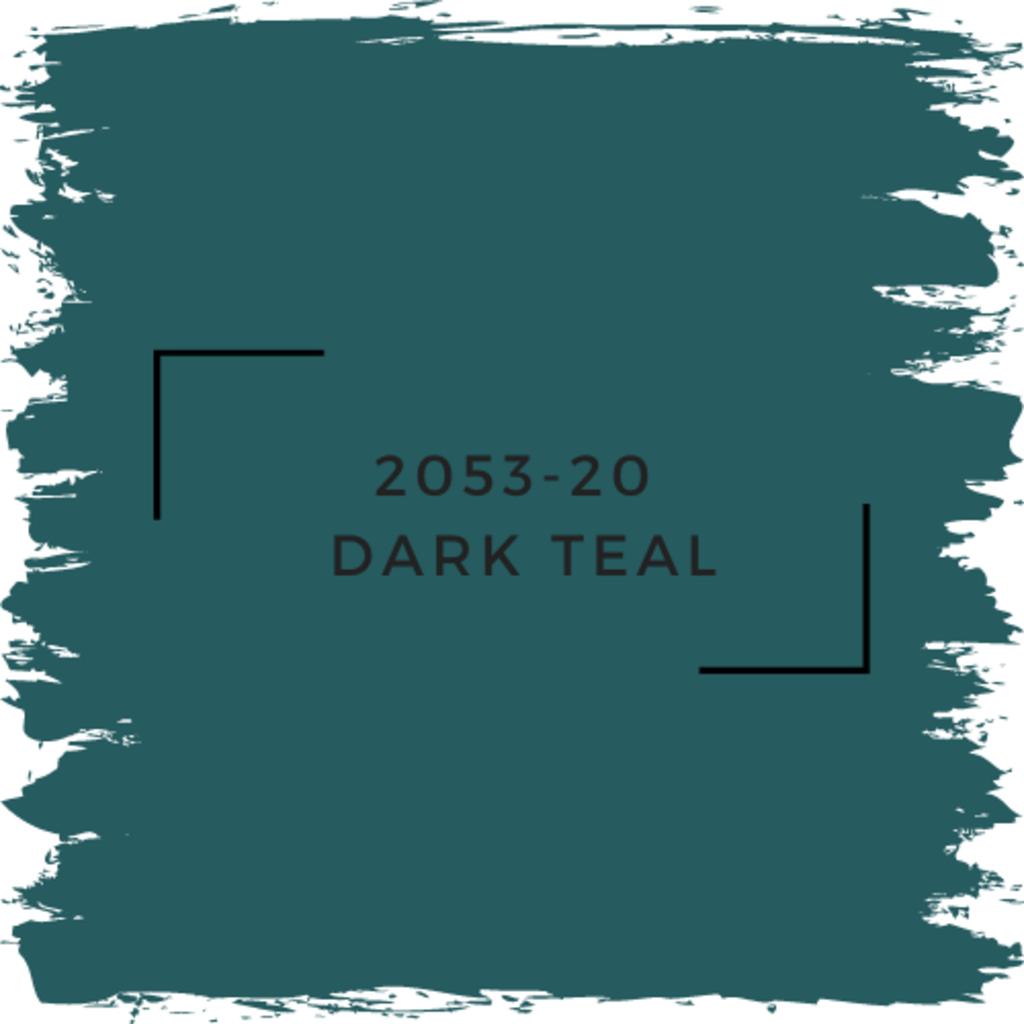 Benjamin Moore 2053-20  Dark Teal