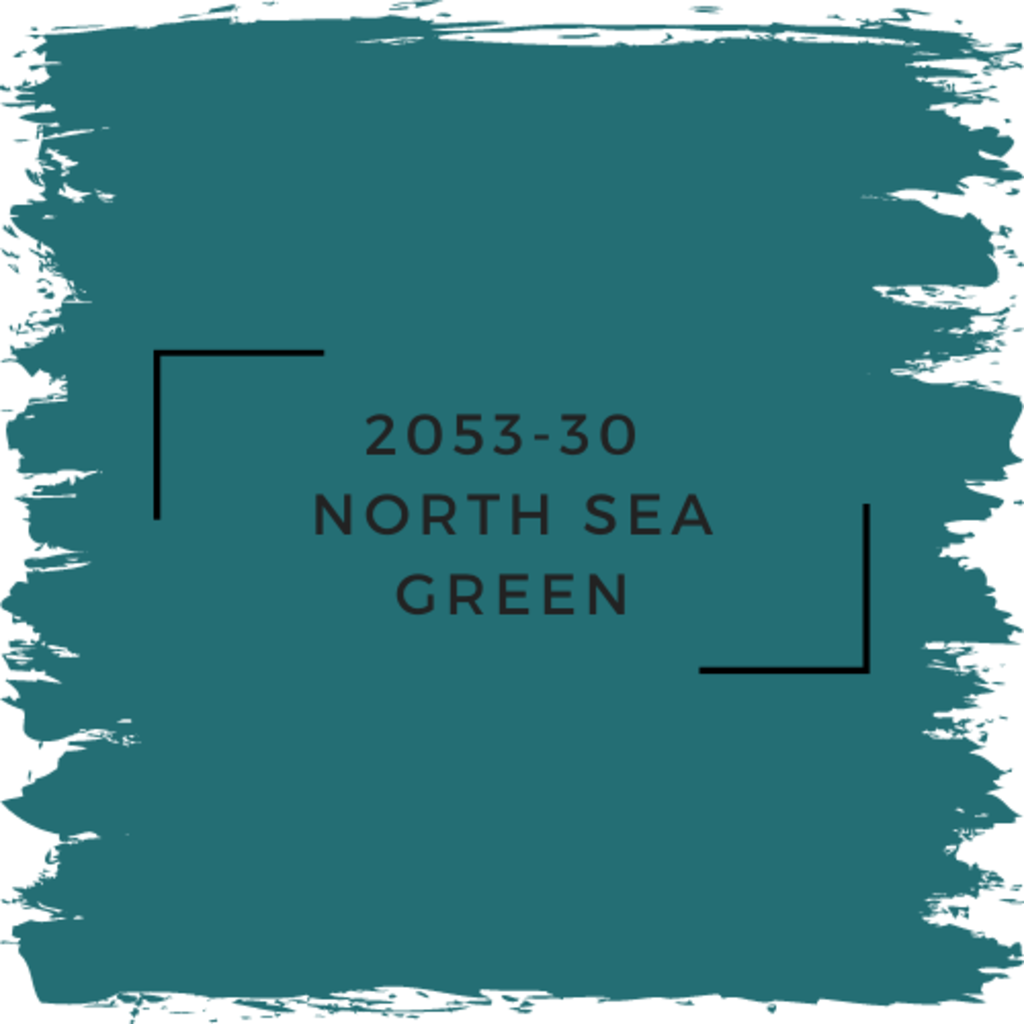 Benjamin Moore 2053-30  North Sea Green