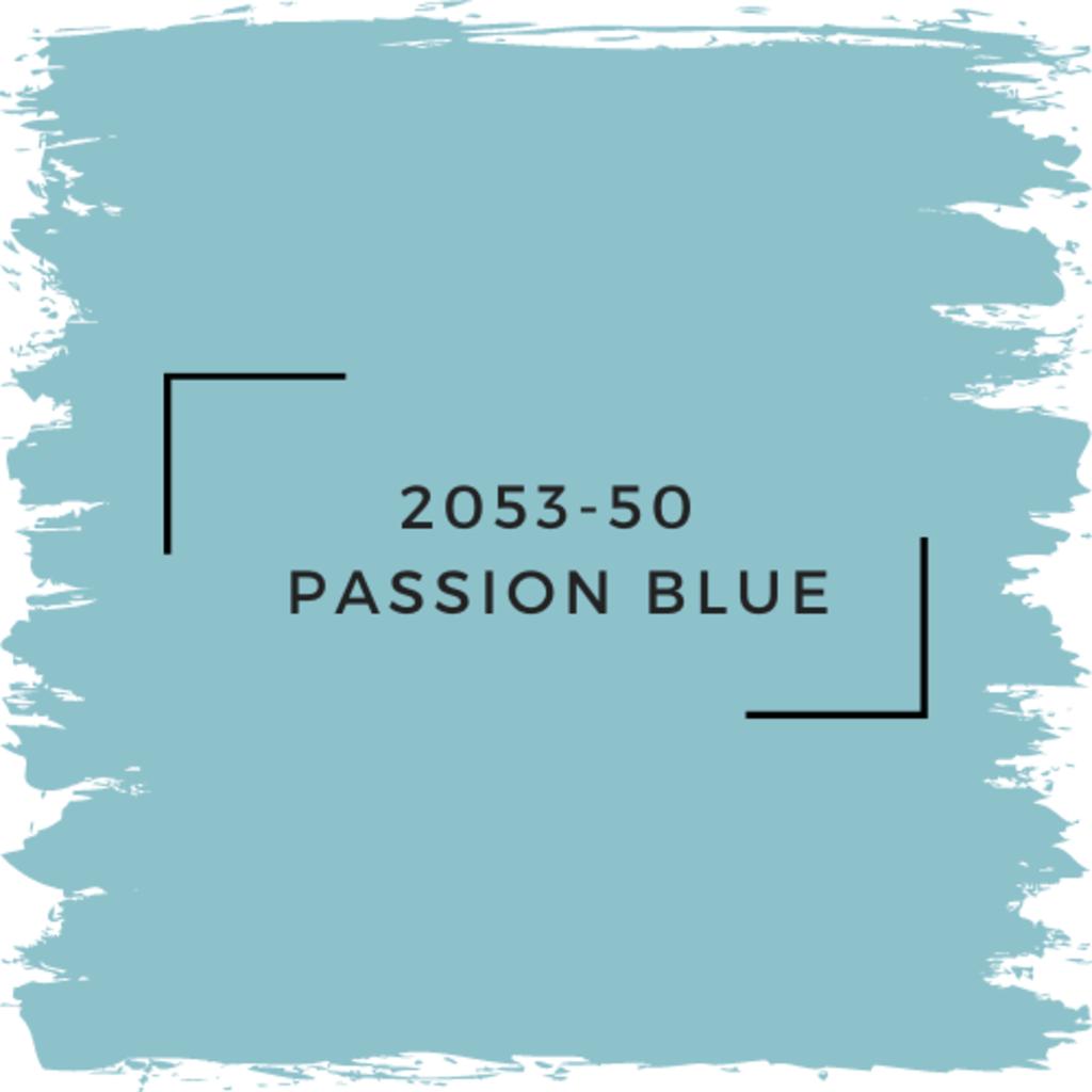 Benjamin Moore 2053-50  Passion Blue