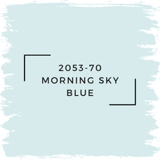 Benjamin Moore 2053-70 Morning Sky Blue