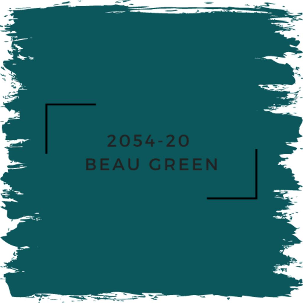 Benjamin Moore 2054-20  Beau Green
