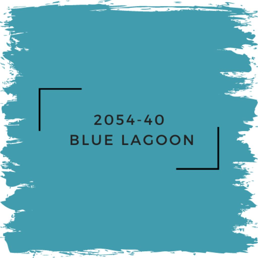 Benjamin Moore 2054-40  Blue Lagoon