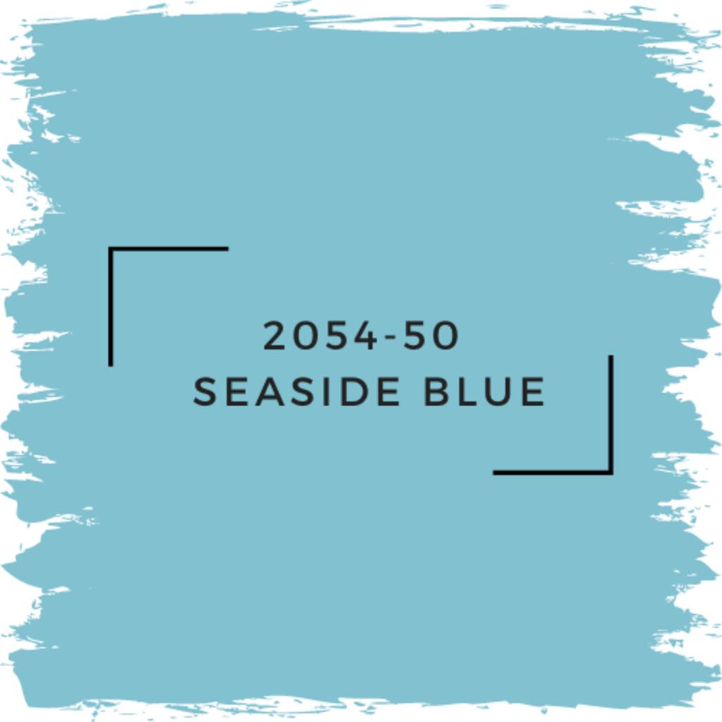 Benjamin Moore 2054-50  Seaside Blue