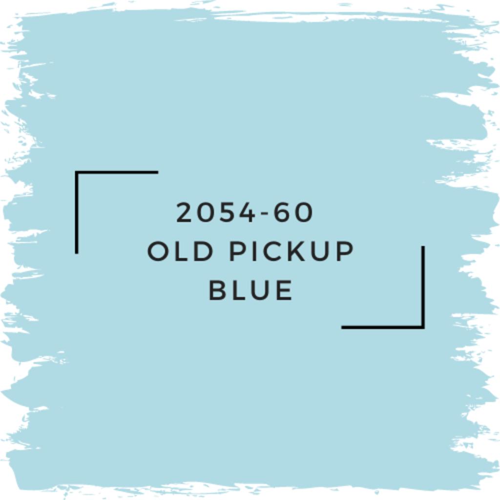 Benjamin Moore 2054-60  Old Pickup Blue