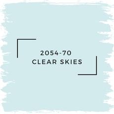 Benjamin Moore 2054-70  Clear Skies