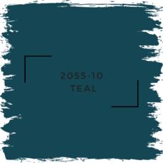 Benjamin Moore 2055-10  Teal