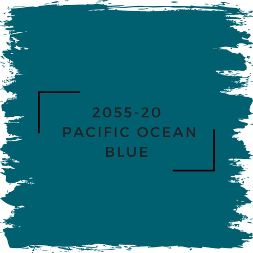 Benjamin Moore 2055-20  Pacific Ocean Blue