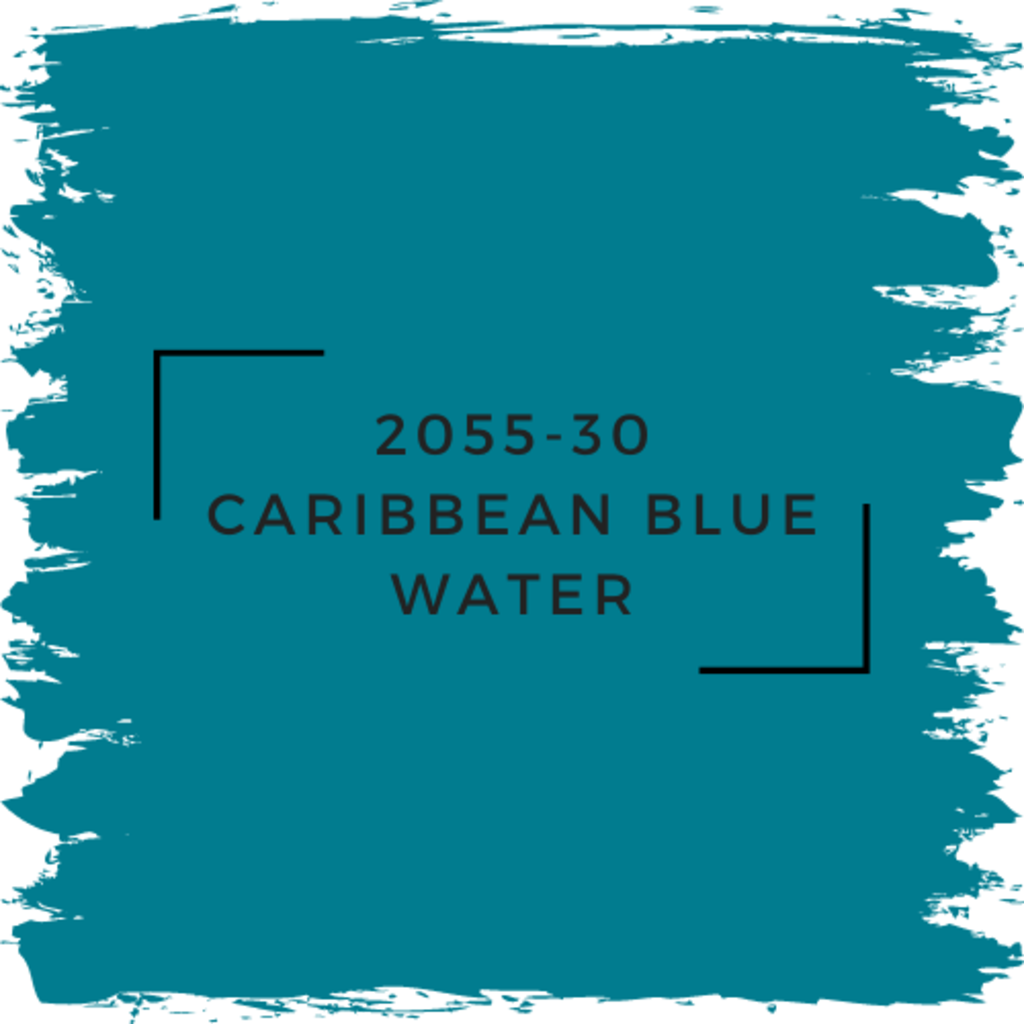 Benjamin Moore 2055-30 Caribbean Blue Water