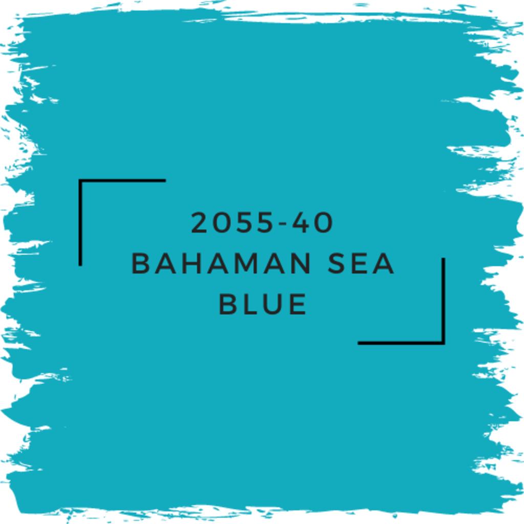 Benjamin Moore 2055-40 Bahaman Sea Blue
