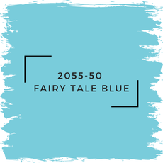 Benjamin Moore 2055-50  Fairy Tale Blue