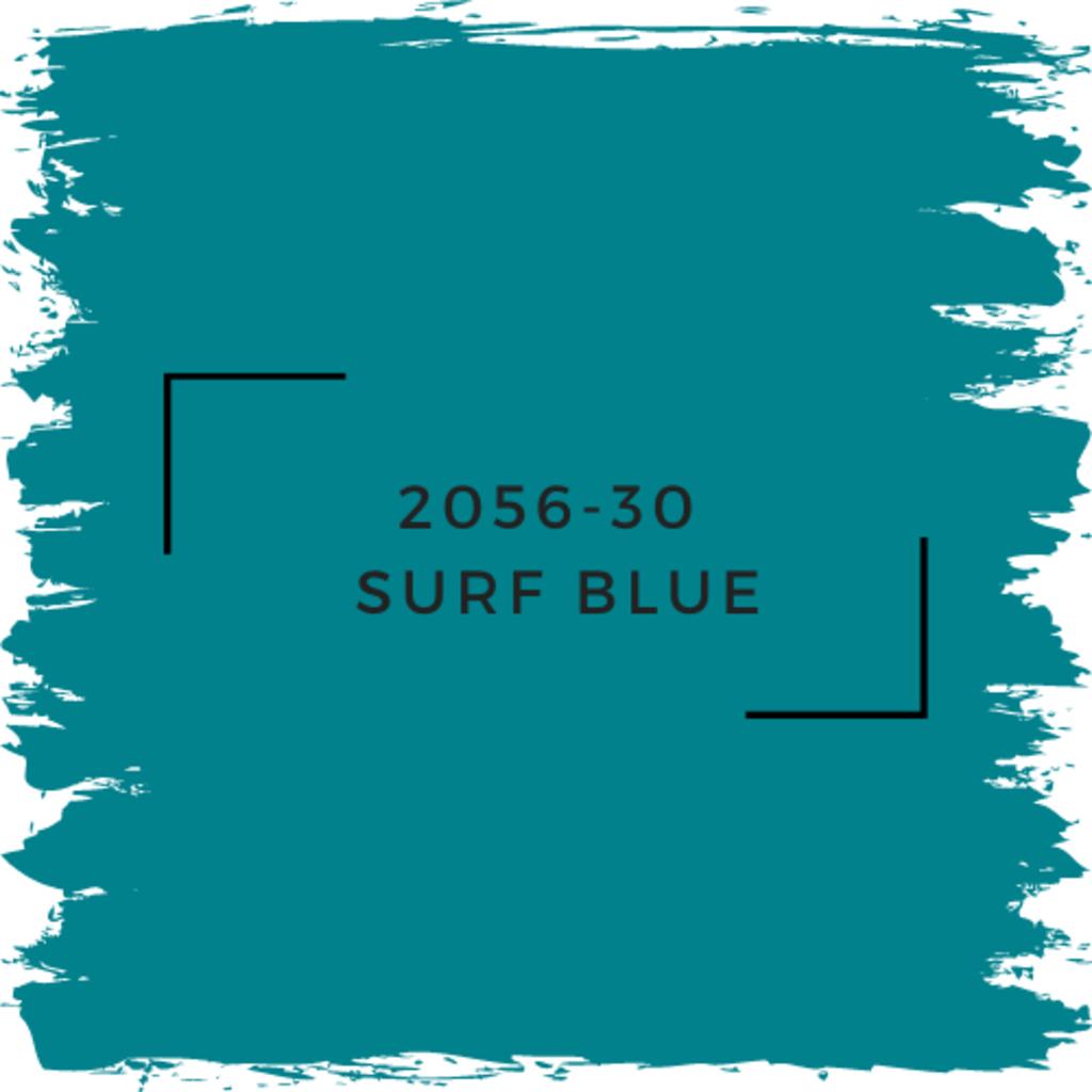 Benjamin Moore 2056-30  Surf Blue