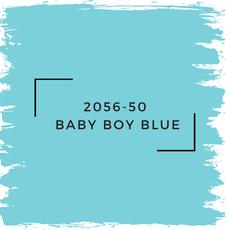 Benjamin Moore 2056-50  Baby Boy Blue