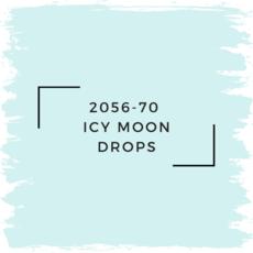 Benjamin Moore 2056-70  Icy Moon Drops