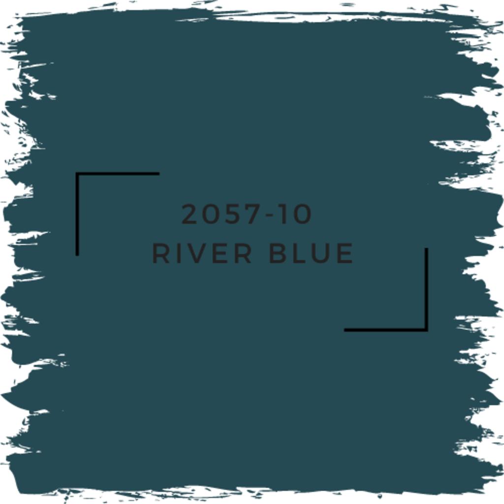 Benjamin Moore 2057-10  River Blue