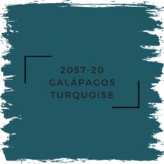 Benjamin Moore 2057-20 Galápagos Turquoise