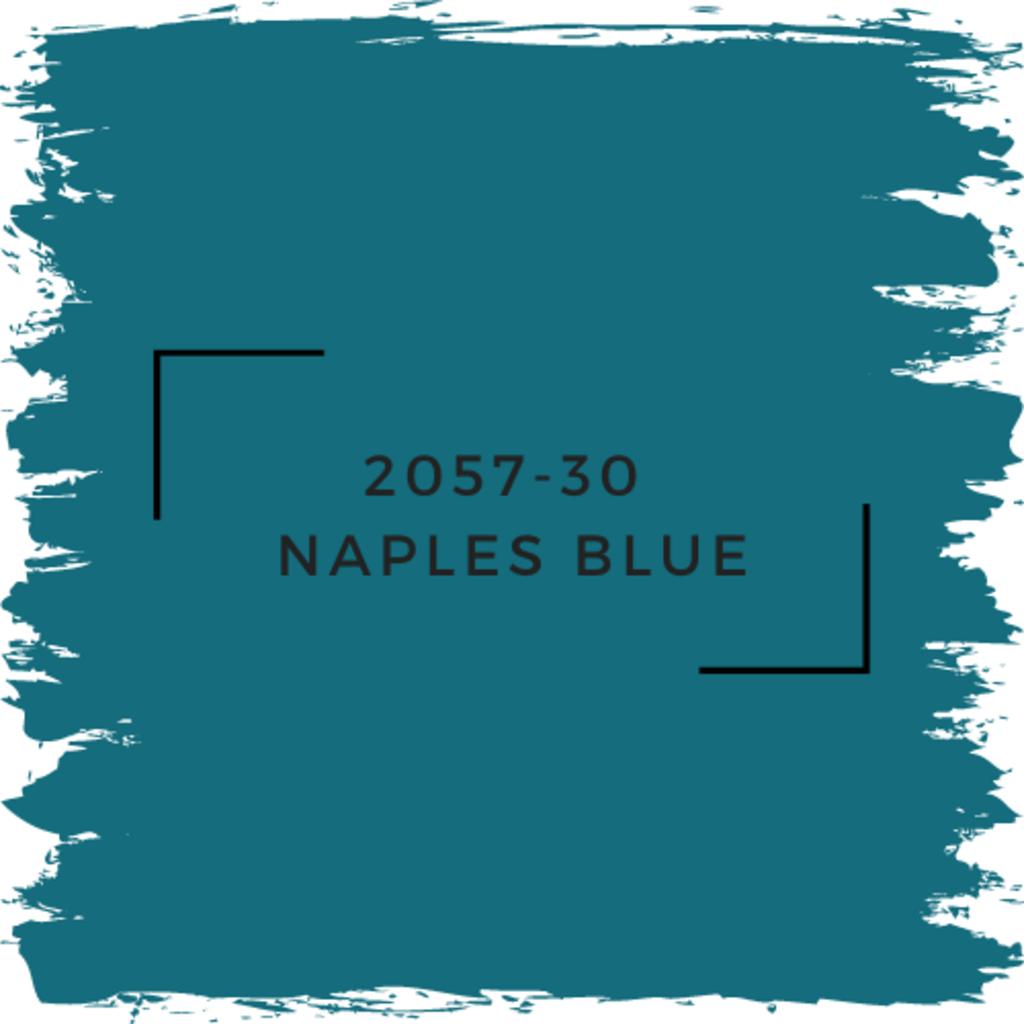 Benjamin Moore 2057-30  Naples Blue