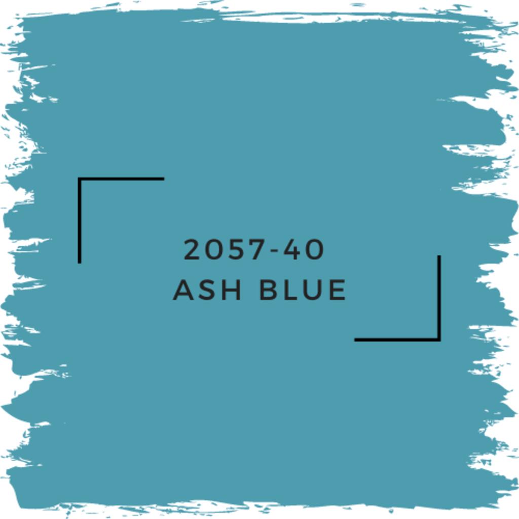 Benjamin Moore 2057-40  Ash Blue
