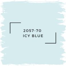 Benjamin Moore 2057-70  Icy Blue