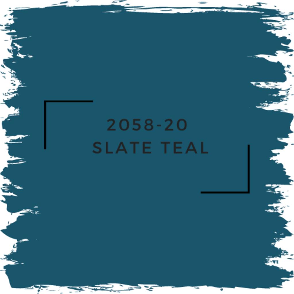Benjamin Moore 2058-20  Slate Teal