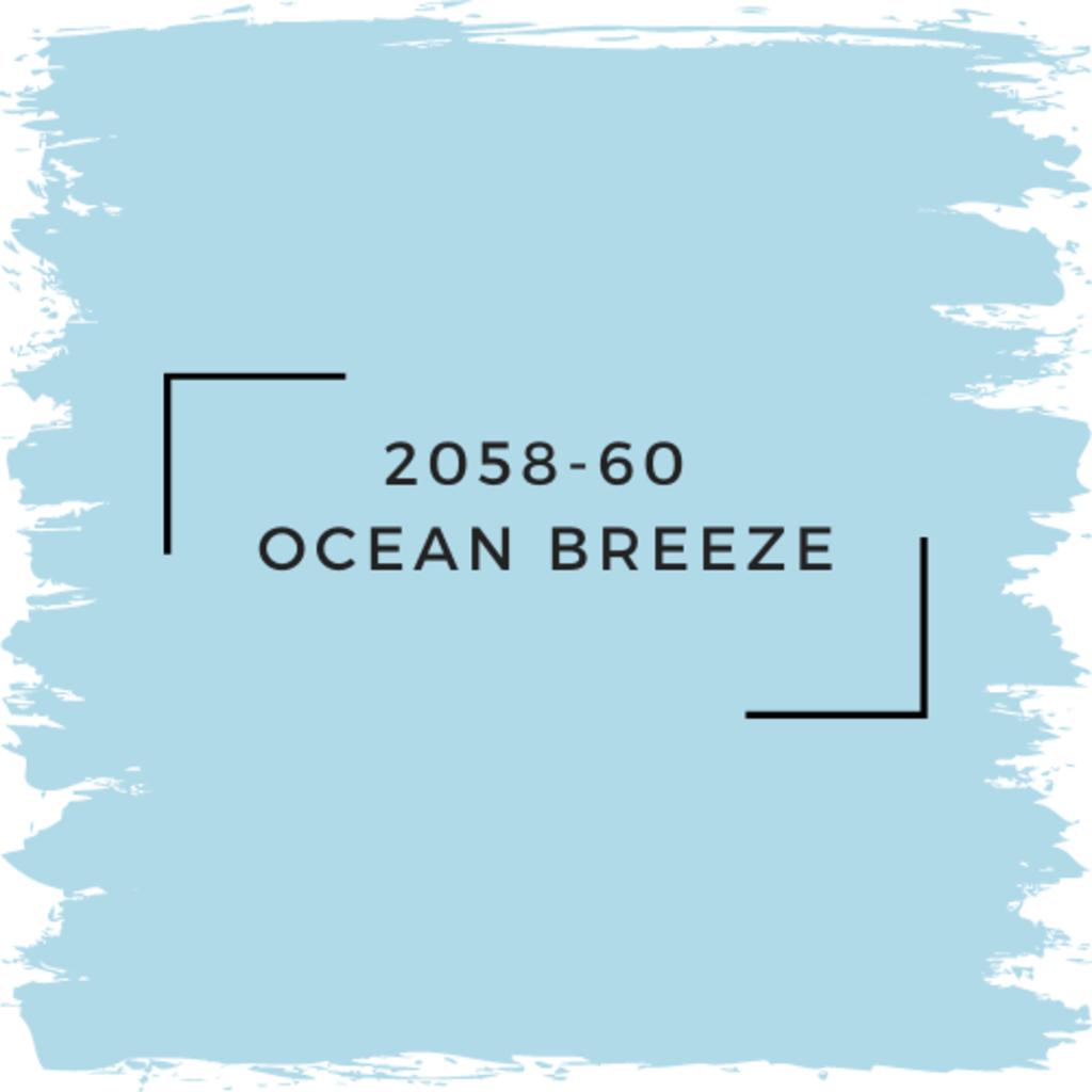 Benjamin Moore 2058-60  Ocean Breeze