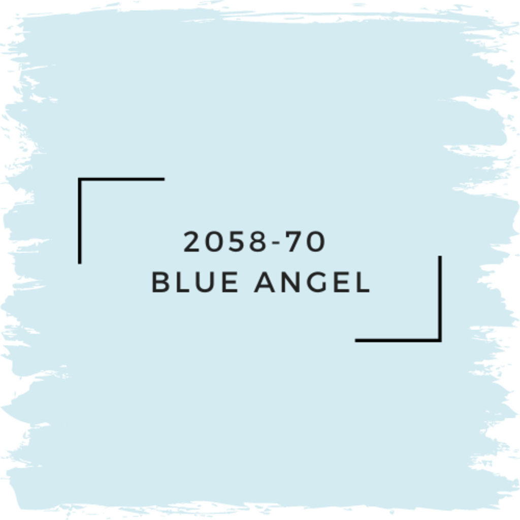 Benjamin Moore 2058-70  Blue Angel