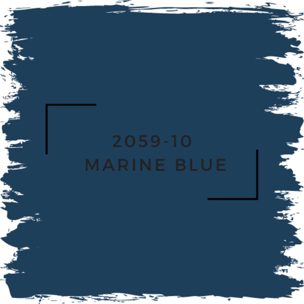 Benjamin Moore 2059-10  Marine Blue