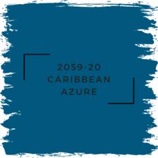 Benjamin Moore 2059-20 Caribbean Azure