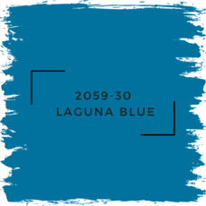Benjamin Moore 2059-30  Laguna Blue