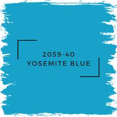 Benjamin Moore 2059-40 Yosemite Blue