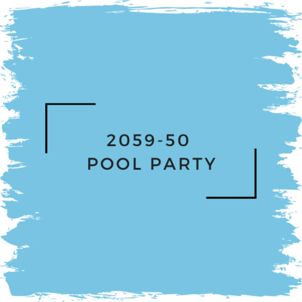 Benjamin Moore 2059-50  Pool Party