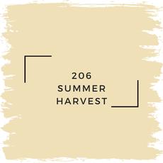 Benjamin Moore 206 Summer Harvest