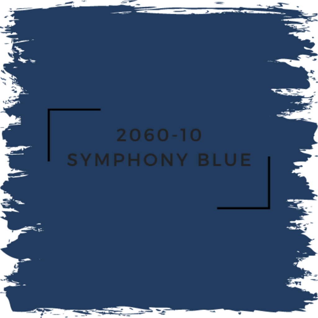 Benjamin Moore 2060-10 Symphony Blue