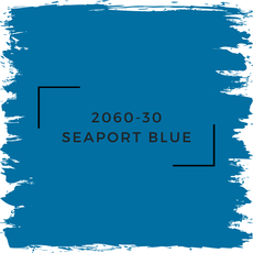 Benjamin Moore 2060-30 Seaport Blue