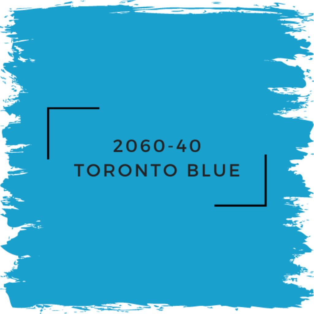 Benjamin Moore 2060-40 Toronto Blue