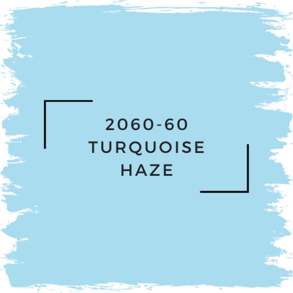 Benjamin Moore 2060-60 Turquoise Haze