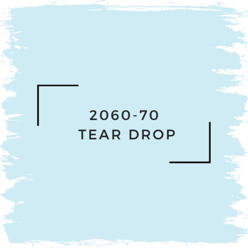 Benjamin Moore 2060-70  Tear Drop