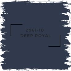 Benjamin Moore 2061-10  Deep Royal