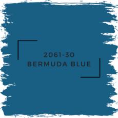 Benjamin Moore 2061-30 Bermuda Blue